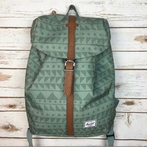 Herschel Supply Co. Green Tribal Backpack